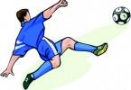 piłka nożna rysunek