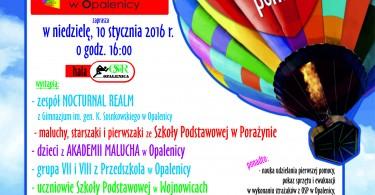 WOŚP 2016 program