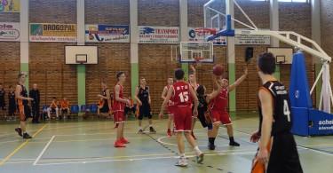 Półfinał Rejonu w Koszykówce Chłopców ze Szkół Gimnazjalnych (1)