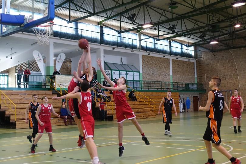 Półfinał Rejonu w Koszykówce Chłopców ze Szkół Gimnazjalnych (15)