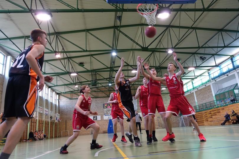 Półfinał Rejonu w Koszykówce Chłopców ze Szkół Gimnazjalnych (25)