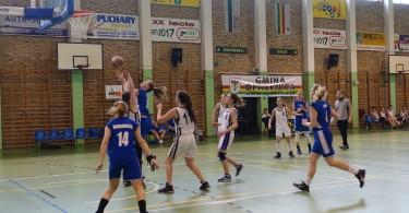 Półfinał Rejonu w Koszykówce Dziewcząt ze Szkół Gimnazjalnych ()