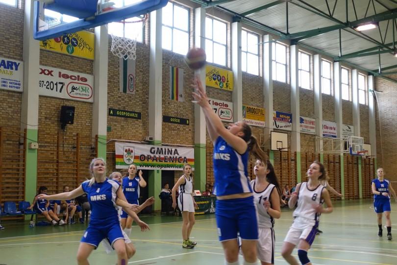 Półfinał Rejonu w Koszykówce Dziewcząt ze Szkół Gimnazjalnych (1)
