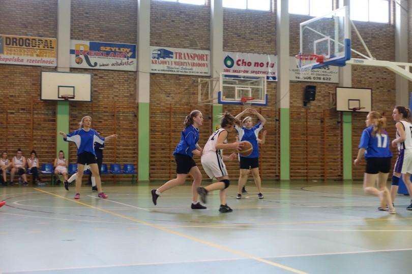 Półfinał Rejonu w Koszykówce Dziewcząt ze Szkół Gimnazjalnych (12)