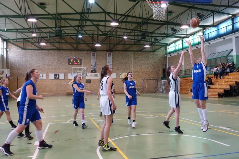 Półfinał Rejonu w Koszykówce Dziewcząt ze Szkół Gimnazjalnych (3)