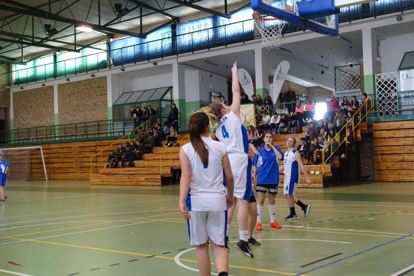 Półfinał Rejonu w Koszykówce Dziewcząt ze Szkół Gimnazjalnych (32)