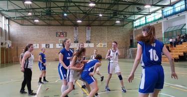 Półfinał Rejonu w Koszykówce Dziewcząt ze Szkół Gimnazjalnych (4)