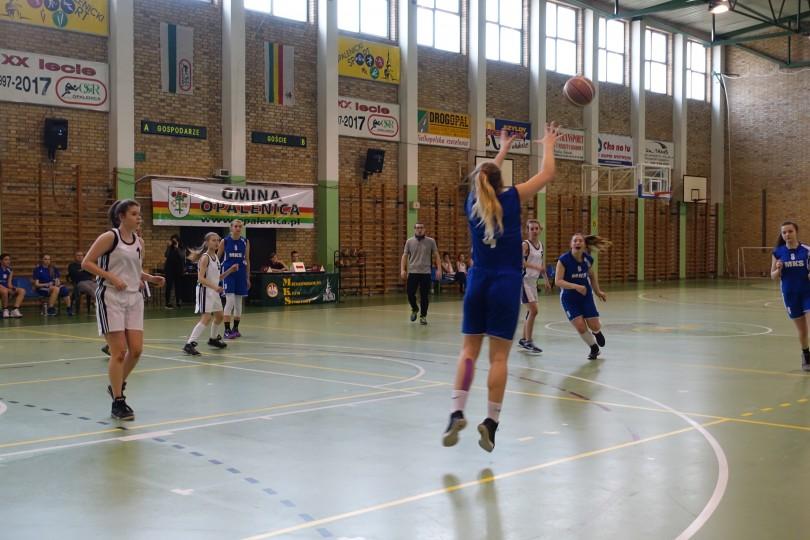 Półfinał Rejonu w Koszykówce Dziewcząt ze Szkół Gimnazjalnych