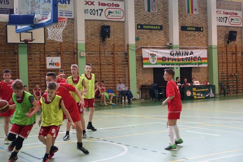 Półfinał Rejonu Poznań Teren Zachód w Koszykówce Chłopców SP(5)