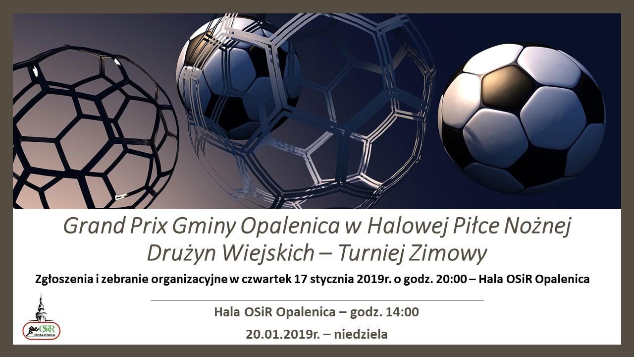 Grand Prix Gminy Opalenica w Halowej Piłce Nożnej
