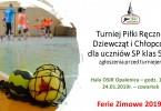 Turniej Piłki Ręcznej Dziewcząt i Chłopców