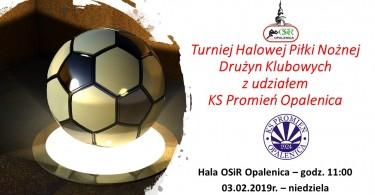 Turniej Halowej Piłki Nożnej Drużyn Klubowych