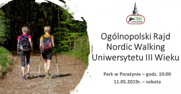 Ogólnopolski Rajd Nordic Walking Uniwersytetu III Wieku